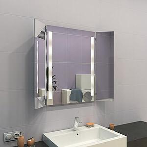 preiswerte klappspiegel mit beleuchtung concept2u. Black Bedroom Furniture Sets. Home Design Ideas