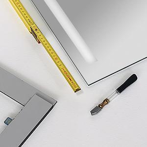 Preiswerte Wandspiegel nach Maß   Concept2u