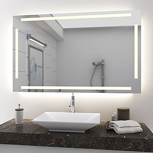 preiswerte spiegel mit beleuchtung concept2u. Black Bedroom Furniture Sets. Home Design Ideas