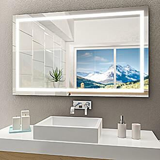 zu den badspiegeln mit beleuchtung. Black Bedroom Furniture Sets. Home Design Ideas
