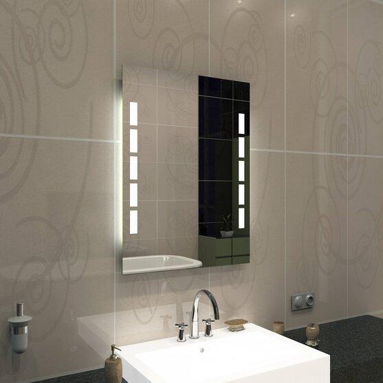 Badspiegel Mit Ablage Und Licht.Badspiegel Mit Licht Ablage Und Steckdose Concept2u 88 00