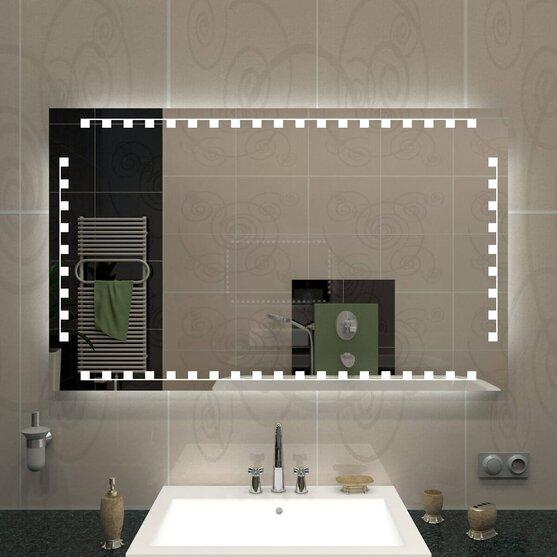 Spiegel mit Beleuchtung Bad Trend IV
