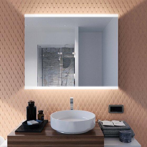 Spiegel mit Beleuchtung oben und unten Fabio V