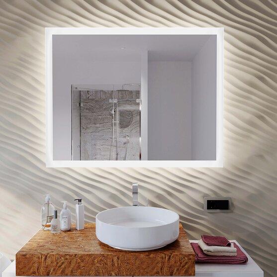 Led Badspiegel Naomi Iv 60 X 80 Cm Quer Oder Hochkant Montage Möglich 4000k Neutralweiß
